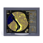 radar per nave / ARPA / con funzioni cartografiche