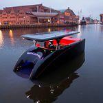 lancia catamarano / entrobordo / elettrica a energia solare / max. 10 persone