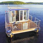 barca a motore house-boat catamarano / fuoribordo / max. 4 persone