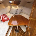 tavolo per barca / pieghevole / in teak