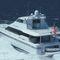motor-yacht catamarano / da crociera / con fly chiuso / con scafo planante