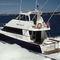 motor-yacht da pesca sportiva / con fly chiuso / in composito / con scafo planante
