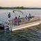 pontoon boat fuoribordo / da pesca sportiva / max. 11 persone