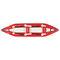 kayak sit-on-top / gonfiabile / da torrente / 2 posti
