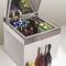 frigorifero per barca / per yacht / a libera installazione / in acciaio inox