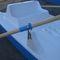 catamarano a remi con 2 posti