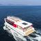 barca professionale barca per trasporto passeggeri / ibrida diesel-elettrica / in alluminio