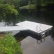 pontile galleggiante / di ormeggio / per marina / in polietilene