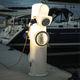colonnina con illuminazione incorporata / di distribuzione elettrica / di distribuzione di acqua / per pontile