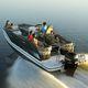 pontoon boat fuoribordo / open / bow-rider / da sci nautico