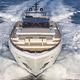 super-yacht da crociera / tradizionale / con fly / con 5 cabine