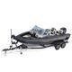 bay boat fuoribordo / con dual console / da pesca sportiva / max. 8 persone
