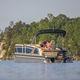 pontoon boat fuoribordo / tri-tube / max. 15 persone