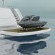 piattaforma per barca / elevatrice / multifunzione / per specchio di poppa