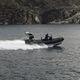 barca utilitaria / fuoribordo / in alluminio / gommone semirigido
