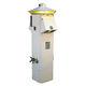 colonnina con illuminazione incorporata / di distribuzione elettrica / per pontile / in acciaio inossidabile