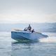 barca open tender per super-yacht / entrobordo / con console centrale / max. 10 persone