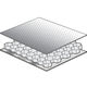 pannello sandwich per isolamento acustico / a nido d'ape in alluminio / in alluminio