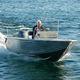 barca open fuoribordo / con console laterale / con dual console / con console centrale