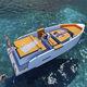 barca open fuoribordo / con console centrale / open / max. 10 persone