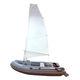 gommone fuoribordo / RIB / pieghevole / sail-drive