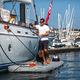 piattaforma per yacht / multifunzione / gonfiabile