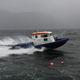 patrol boat / entrobordo / in alluminio / con scafo rigido