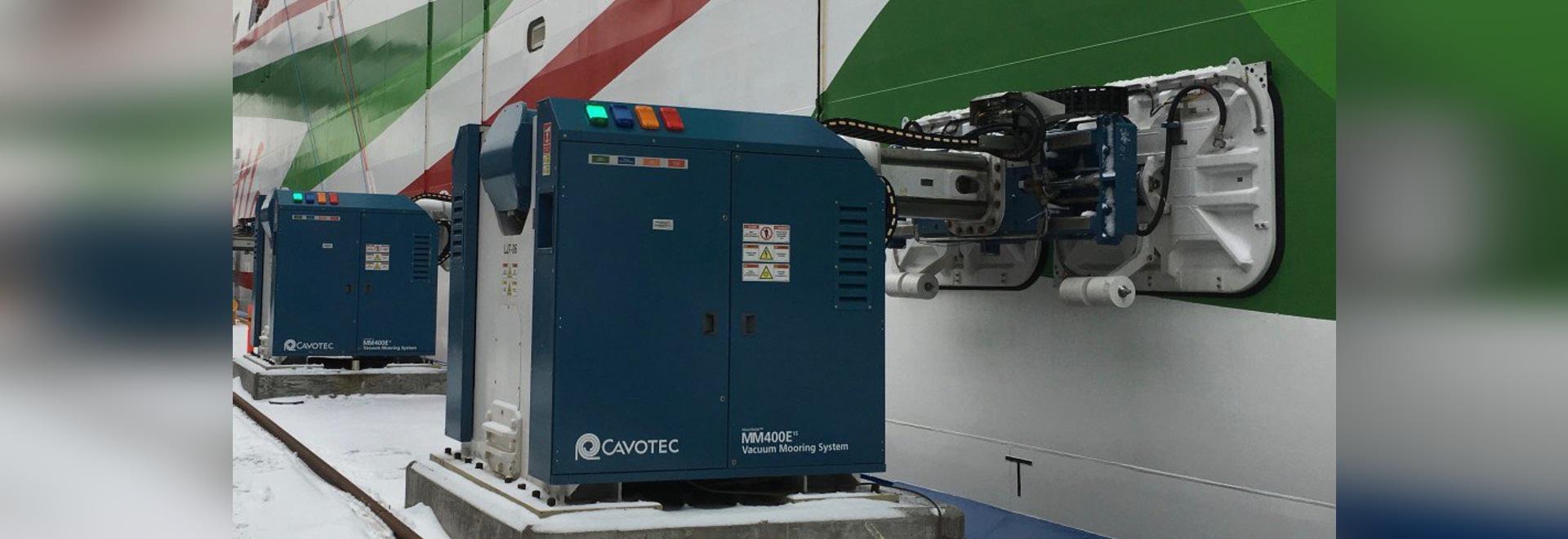 Cavotec vince l'ordine di ormeggio automatico in Finlandia