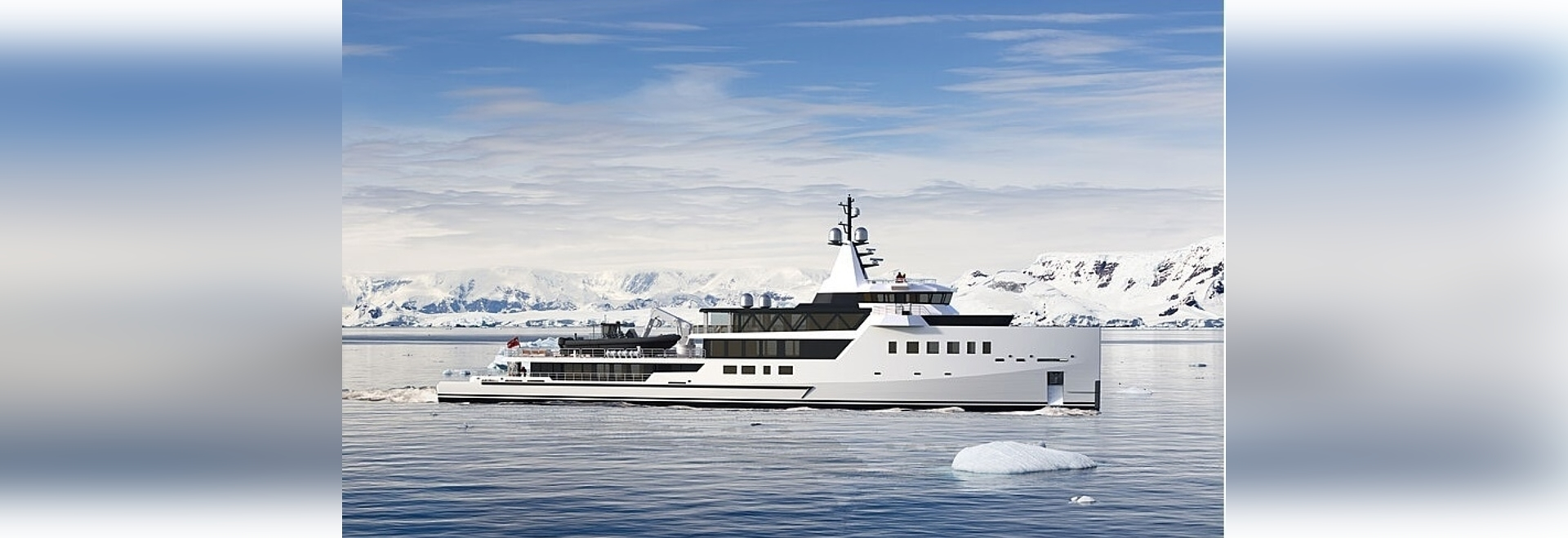 Damen Yachting firma il nuovo yacht esploratore ibrido di 72 metri