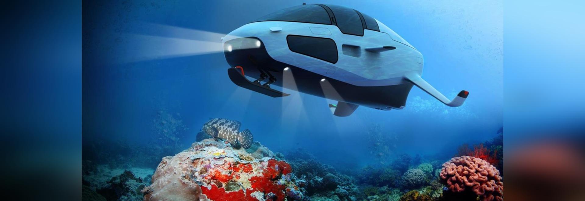 Giocattolo del mese: Deepseaker DS1 è la prova che anche un sottomarino ha bisogno di lamine