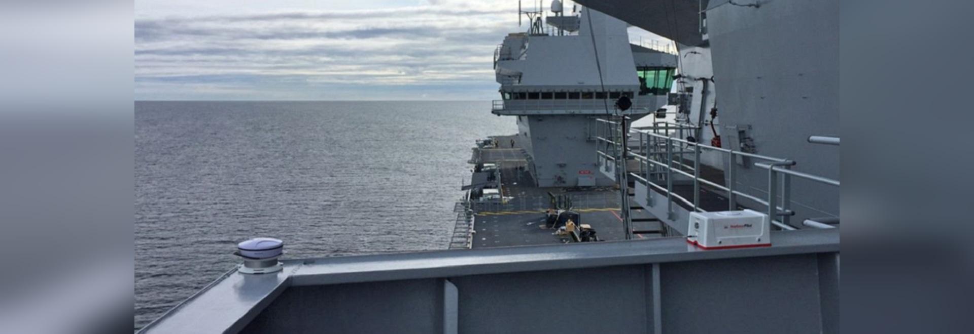 HabourPilot sulla regina Elisabeth di HMS