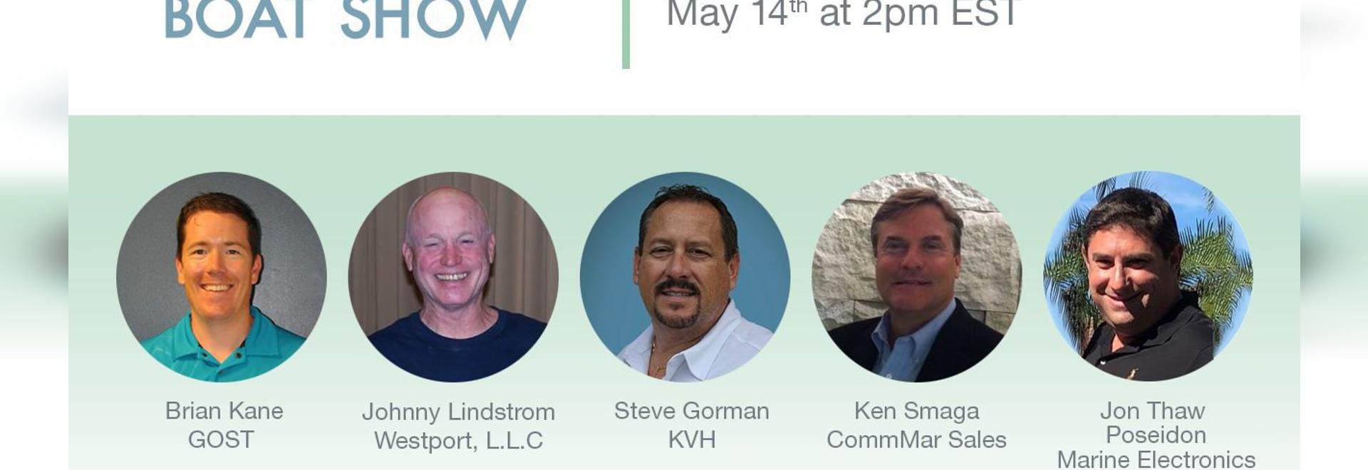 Imparare a conoscere Internet e la TV per barche e yacht ai seminari educativi KVH 5/14 e 5/20