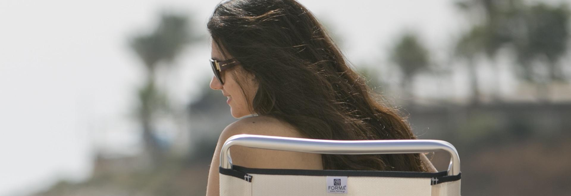Marinaio di Forma delle sedie di spiaggia