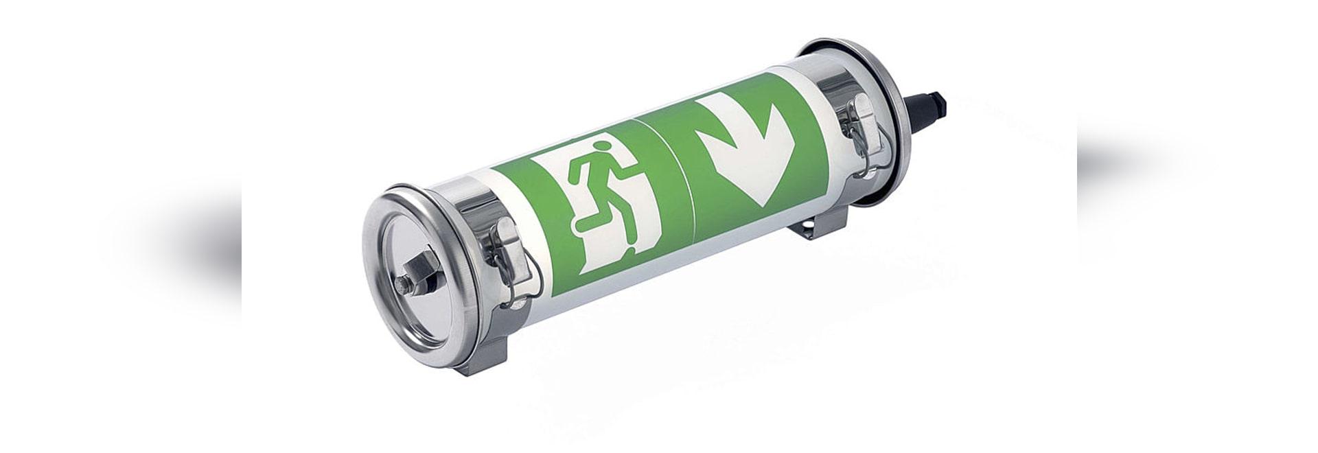MAXWELL 100 LSC EVAC, presa dell'unità del LED per la fonte centrale