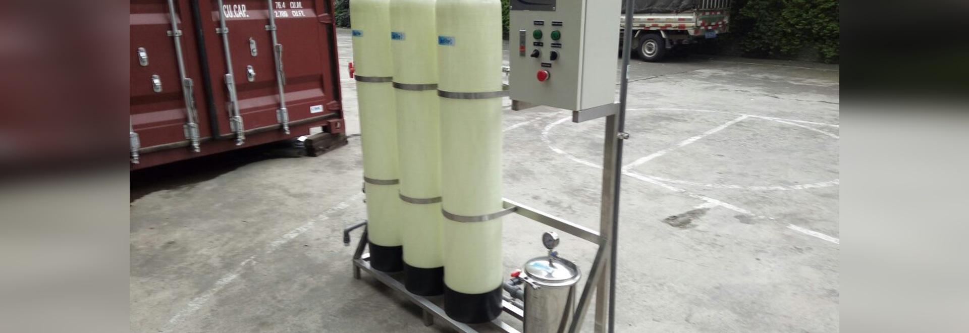 Mini impianto per il trattamento delle acque WT000