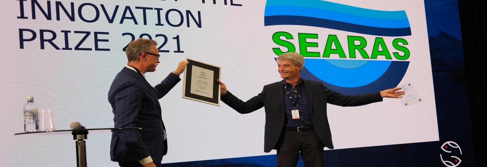 Il monitor di gas RAS vince il premio per l'innovazione di Aqua Nor