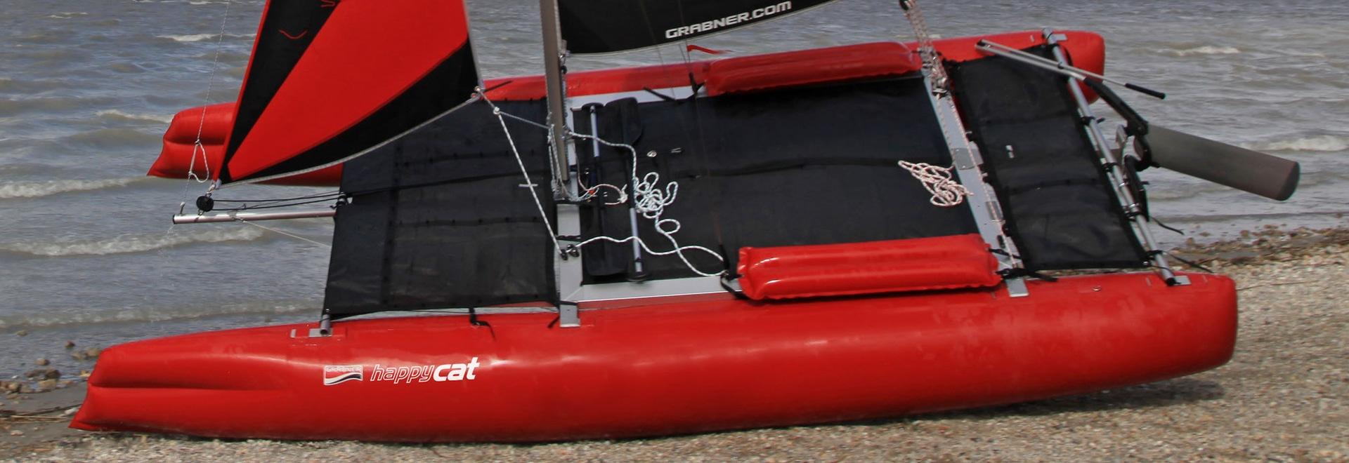 NOVITÁ: Coperta di poppa per catamarani da viaggio smontabili HAPPY CAT HURRICANE