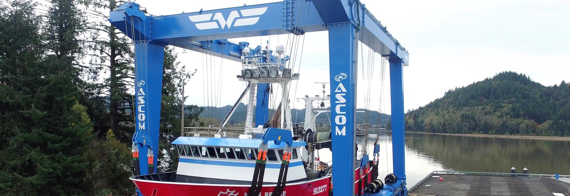 Nuova consegna: gru della barca di 660 t