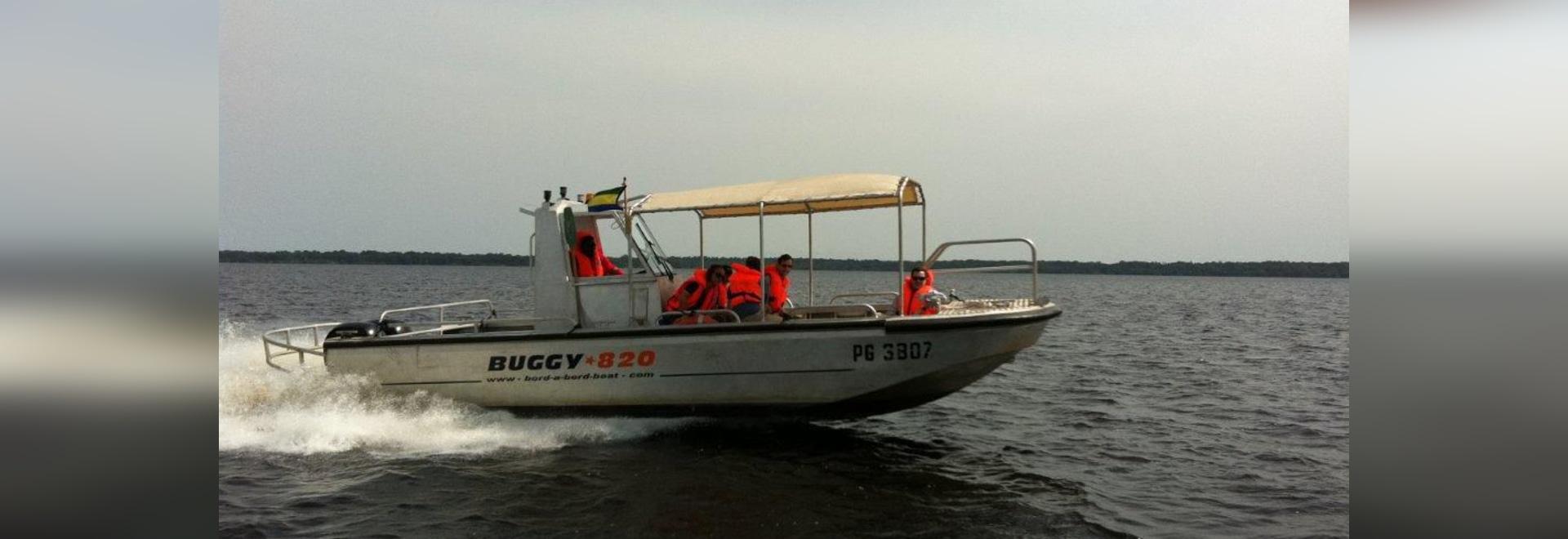 NUOVO: barca di alluminio di servizio da BORD A BORD
