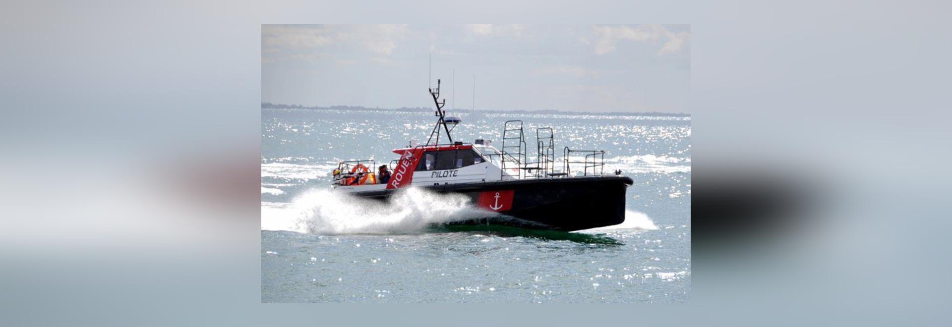 Nuovo: barca pilota da Alumarine Shipyard