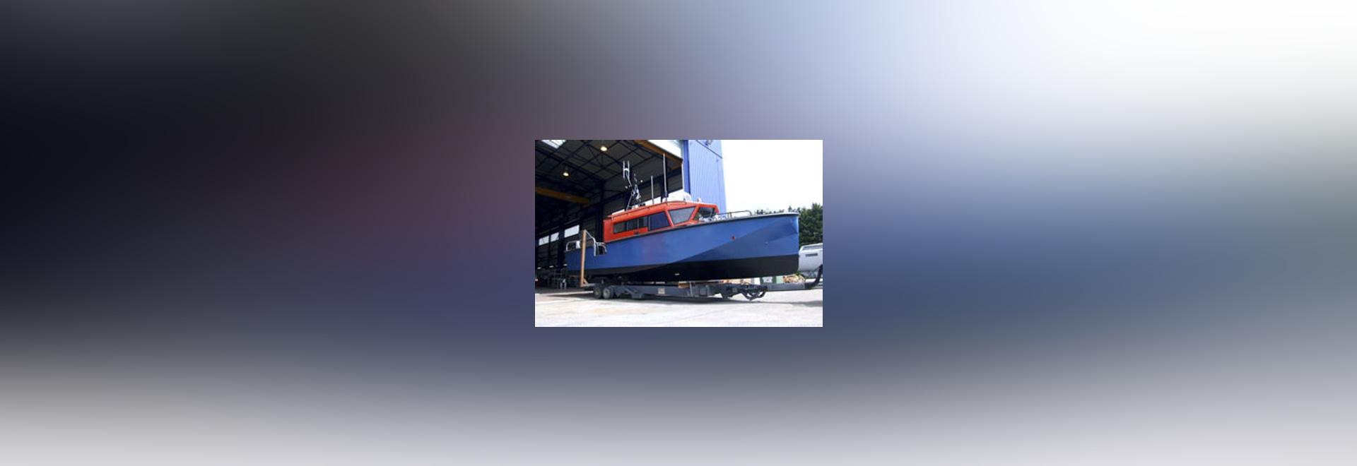 NUOVO: nave di soccorso di alluminio da Alumarine Shipyard