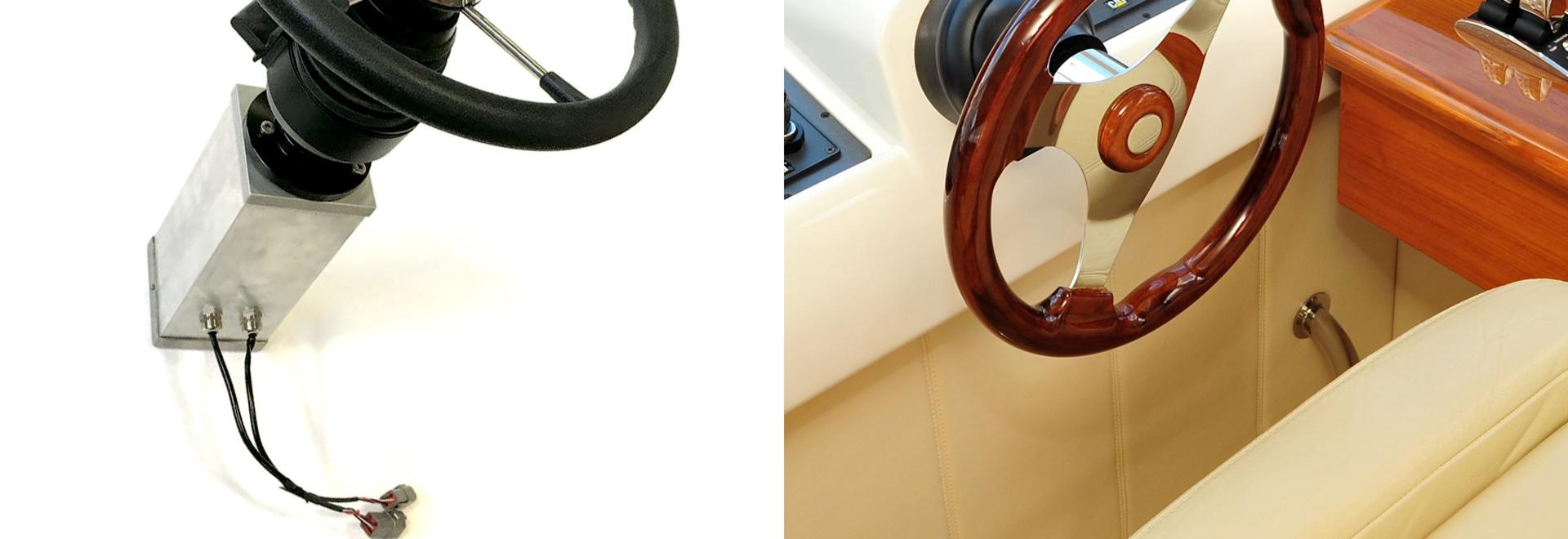 Ridefinendo il servosterzo, il disco gemellato offre il suo E-STEER™ di prossima generazione.