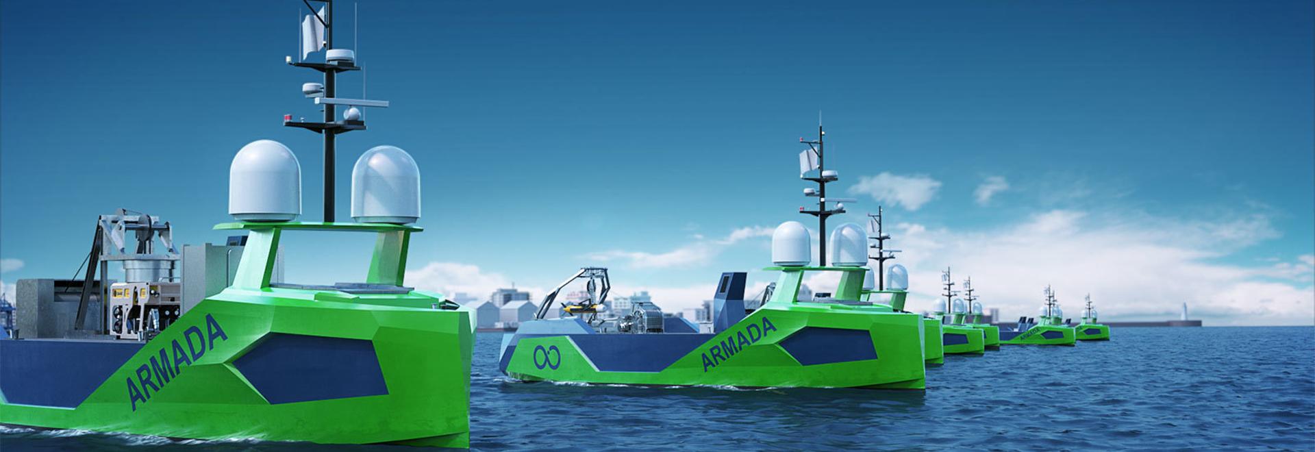 I Saab Seaeye Leopard si uniscono alla flotta 'Armada' di navi robot di superficie senza equipaggio.
