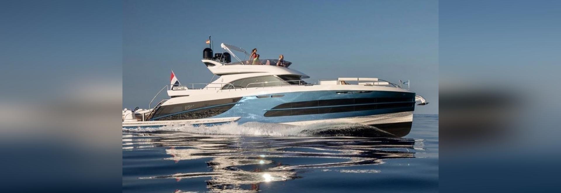 Secondo Van der Valk BeachClub 660 Yacht Lanciato