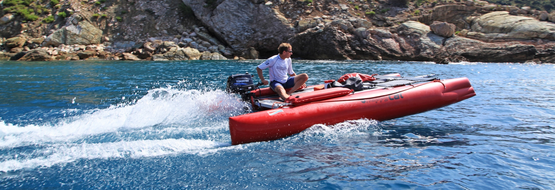 Supporto severo del motore per l'URAGANO FELICE del CAT del catamarano gonfiabile