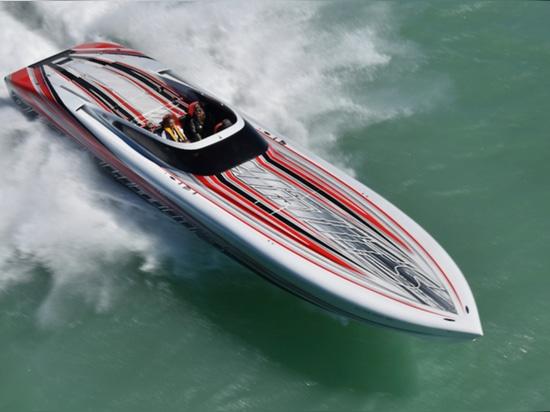 Randello del Powerboat della Florida