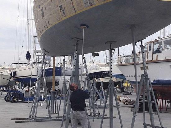 Invaso per Barca a Vela con Inclinazione Regolabile