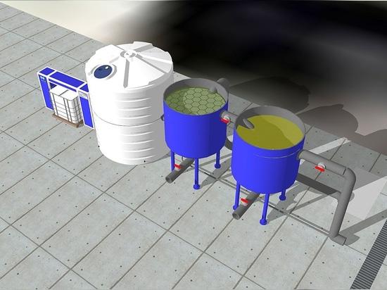 Trattamento acque cantieri navali ( lavaggio, prima e seconda pioggia)