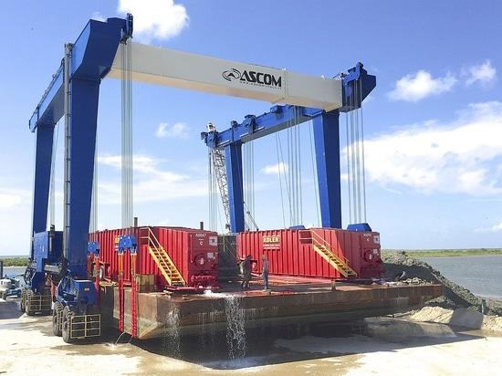 Houston pilota gli acquisti (TX) nuovo Ascom gru della barca da 480 tonnellate