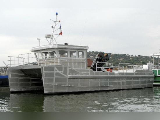 NUOVO: battello di servizio multiuso del catamarano da Alumarine Shipyard